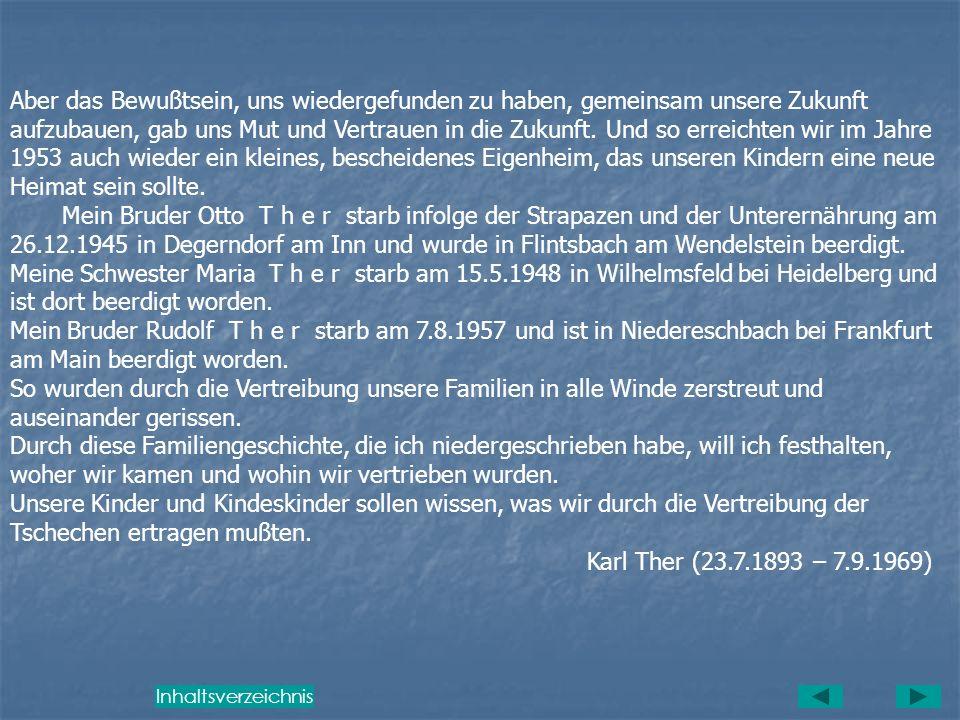 Durch einen befreundeten Hohenelber, den ich durch Zufall in München traf, kam ich in ein Auffanglager nach München-Pasing. Nach langem Umherirren err
