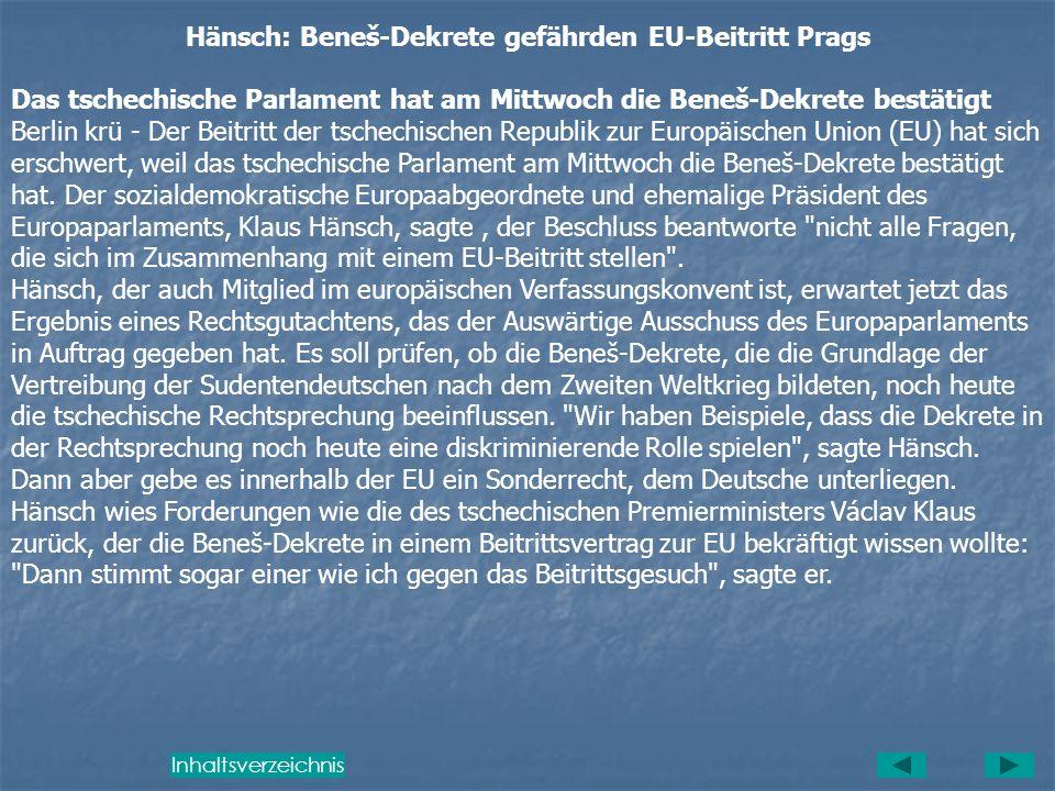 Mit den Dekreten wurden beispielsweise auch das Vermögen des neutralen Fürsten von und zu Liechtenstein sowie das Eigentum von italienischen Bürgern u