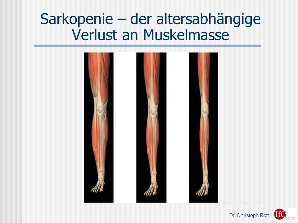 Dr. Christoph Rott Sarkopenie – der altersabhängige Verlust an Muskelmasse Baltes & Smith, 2002