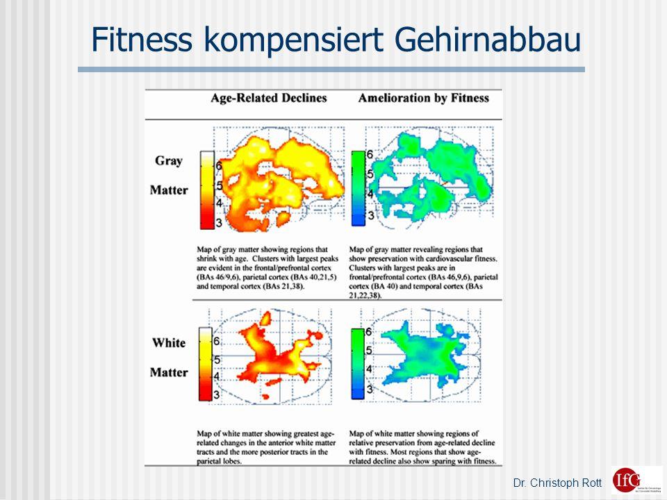 Dr. Christoph Rott Fitness kompensiert Gehirnabbau