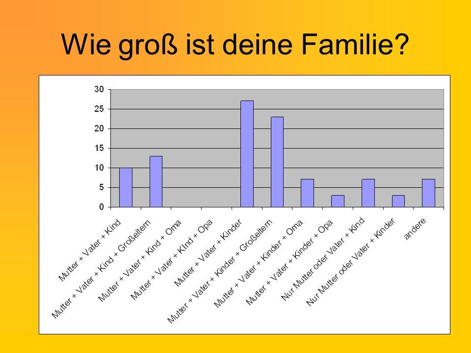Wer trifft Entscheidungen in deiner Familie?