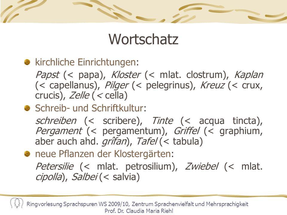 Einfluss der lateinischen Syntax D.