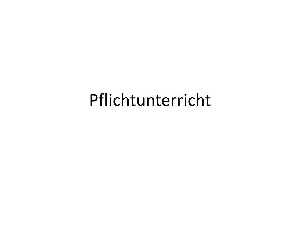 Deutsch4 Std.Englisch3 Std. 2. Fremdsprache4 Std.