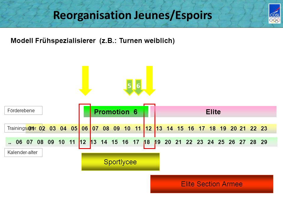 Reorganisation Jeunes/Espoirs 01 02 03 04 05 06 07 08 09 10 11 12 13 14 15 16 17 18 19 20 21 22 23..