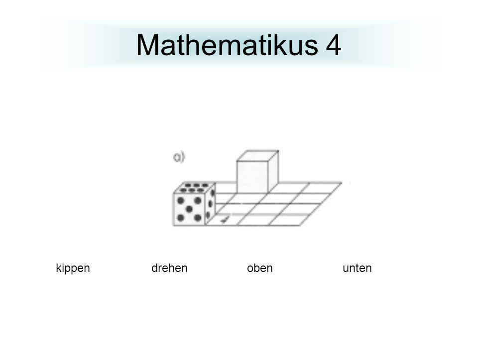 Mathematikus 4 kippen drehenoben unten