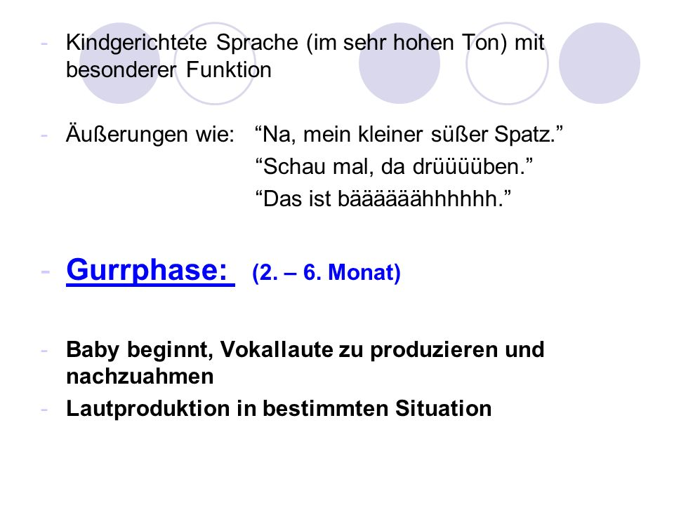 Modelle zur Interpretation von 2-Wort Äußerungen: 1.