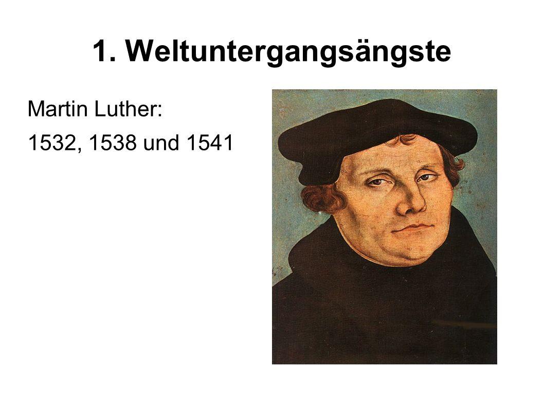 1. Weltuntergangsängste Papst Silvester: 31.12.999