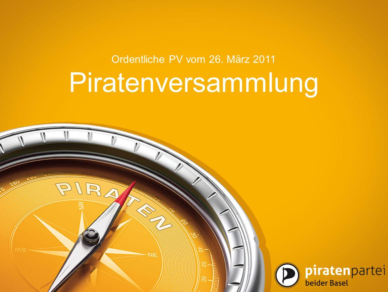 Piratenversammlung Ordentliche PV vom 26. März 2011