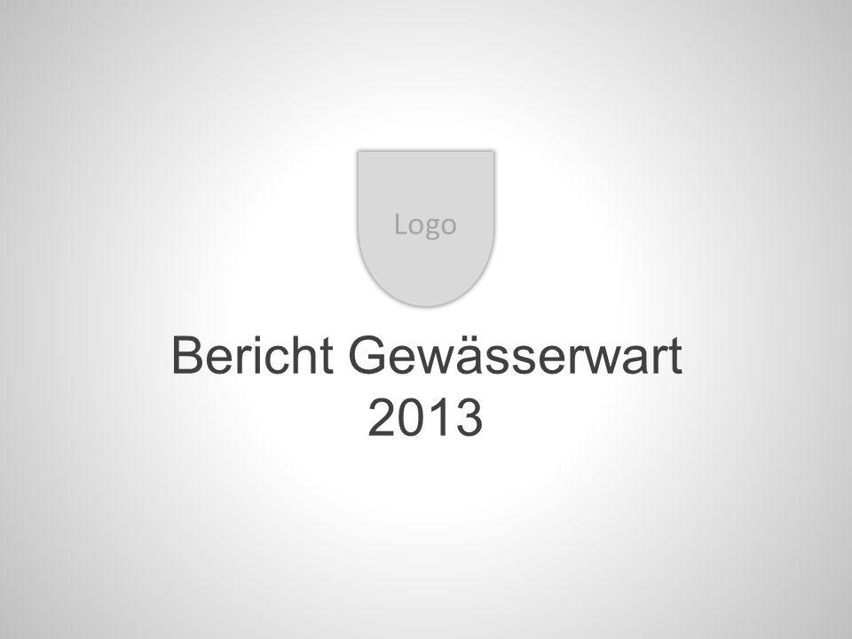Bericht Gewässerwart 2013 Logo