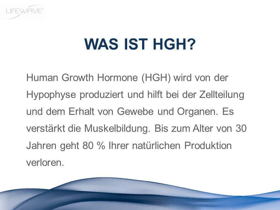 WAS IST HGH? Human Growth Hormone (HGH) wird von der Hypophyse produziert und hilft bei der Zellteilung und dem Erhalt von Gewebe und Organen. Es vers