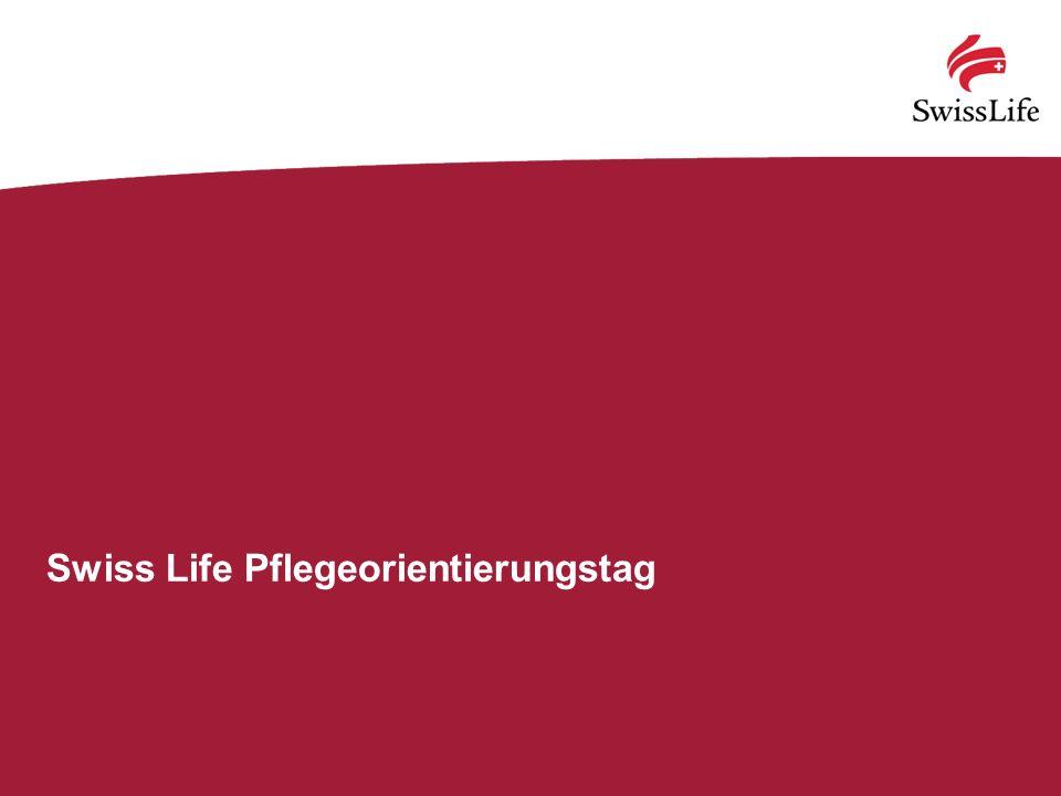 Swiss Life Pflegeorientierungstag
