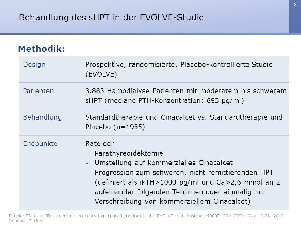 4 Behandlung des sHPT in der EVOLVE-Studie Drueke TB.
