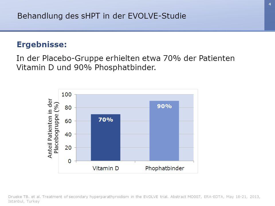 5 Behandlung des sHPT in der EVOLVE-Studie Drueke TB.