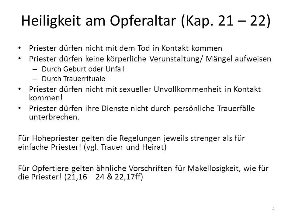 Regelungen für Fleischesser (Kap.