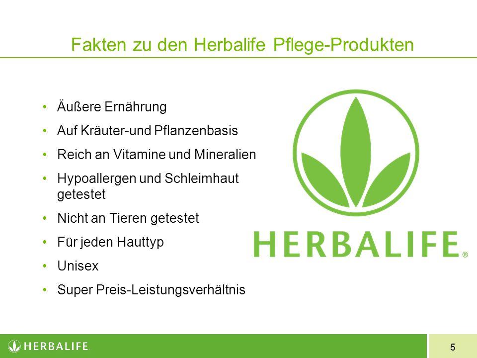 5 Fakten zu den Herbalife Pflege-Produkten Äußere Ernährung Auf Kräuter-und Pflanzenbasis Reich an Vitamine und Mineralien Hypoallergen und Schleimhau