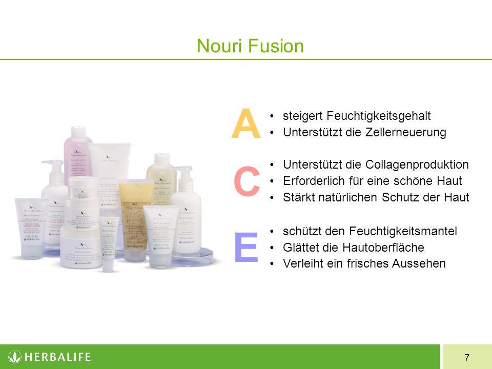 8 steigert den Feuchtigkeitsgehalt der Haut unterstützt die natürliche Struktur und das Gleichgewicht der Haut enthält Glucosaminkomplex zur Steigerung der natürlichen Collagenproduktion.