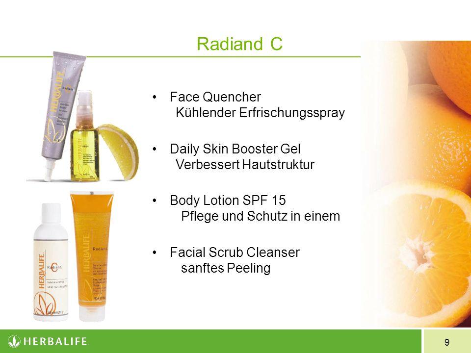 9 Face Quencher Kühlender Erfrischungsspray Daily Skin Booster Gel Verbessert Hautstruktur Body Lotion SPF 15 Pflege und Schutz in einem Facial Scrub