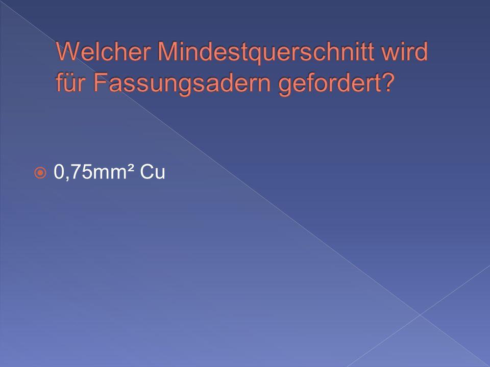 0,75mm² Cu