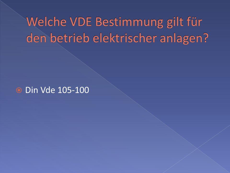 Din Vde 105-100