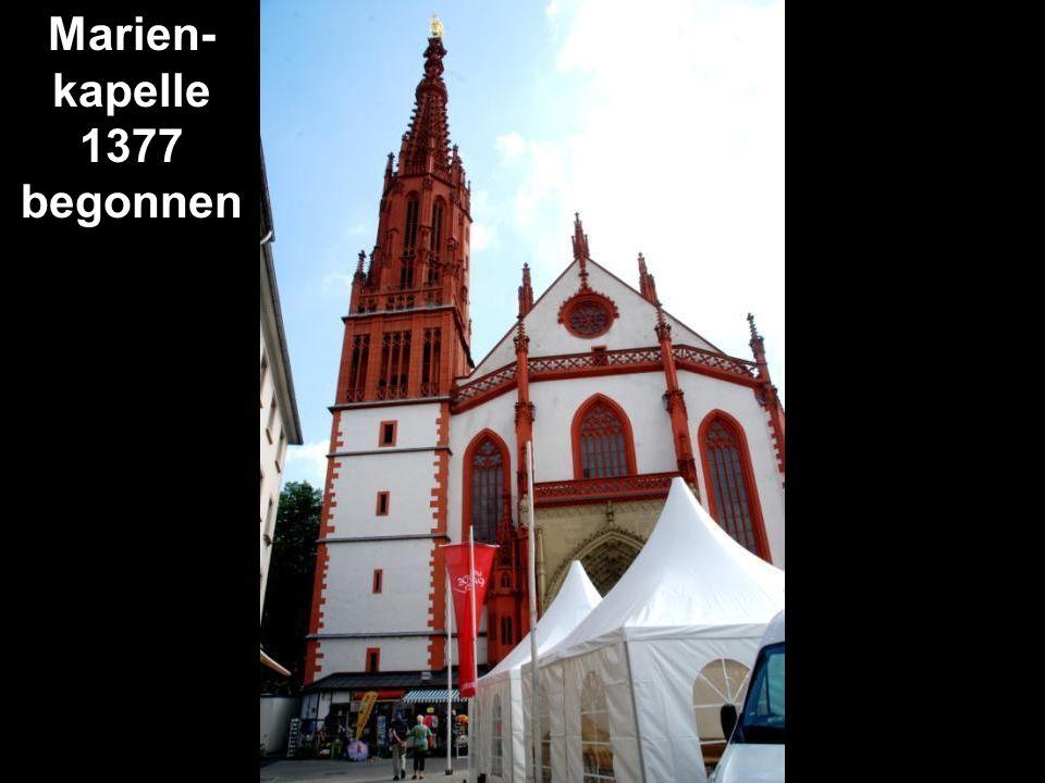 Marien- kapelle 1377 begonnen