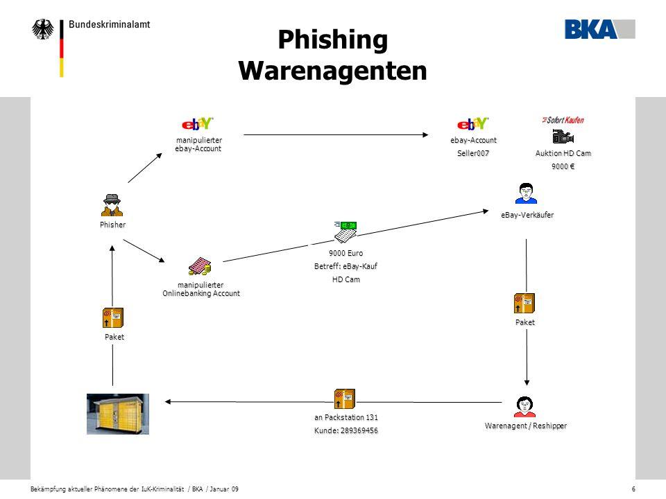 Bekämpfung aktueller Phänomene der IuK-Kriminalität / BKA / Januar 097 Digitale Identität eines Internetnutzers