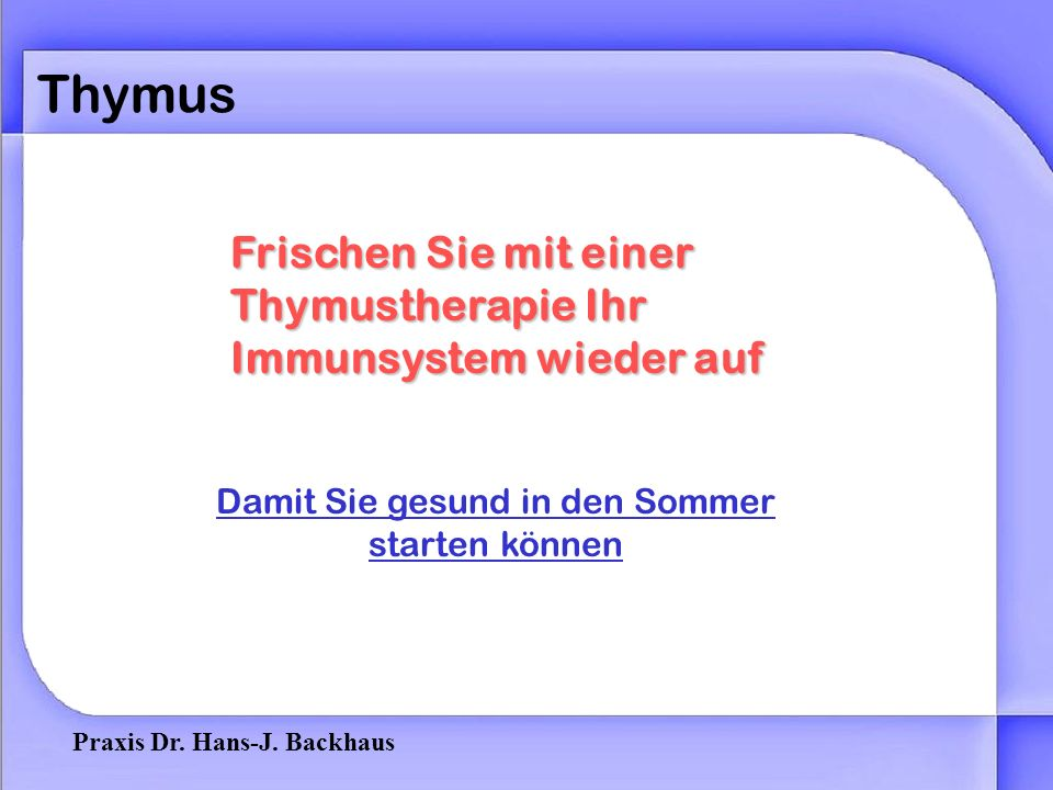 Praxis Dr. Hans-J.