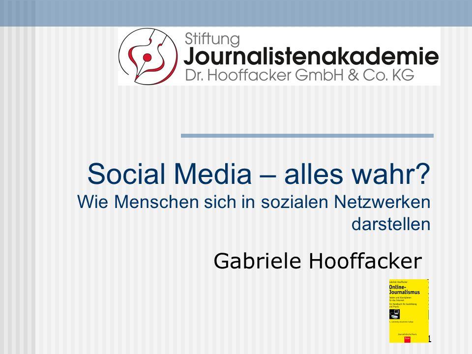 41 von 43 Öffentlichkeitsarbeit in eigener Sache, aber richtig Nicht so wie WeTab-Chef Helmut Hoffer von Ankershoffen.