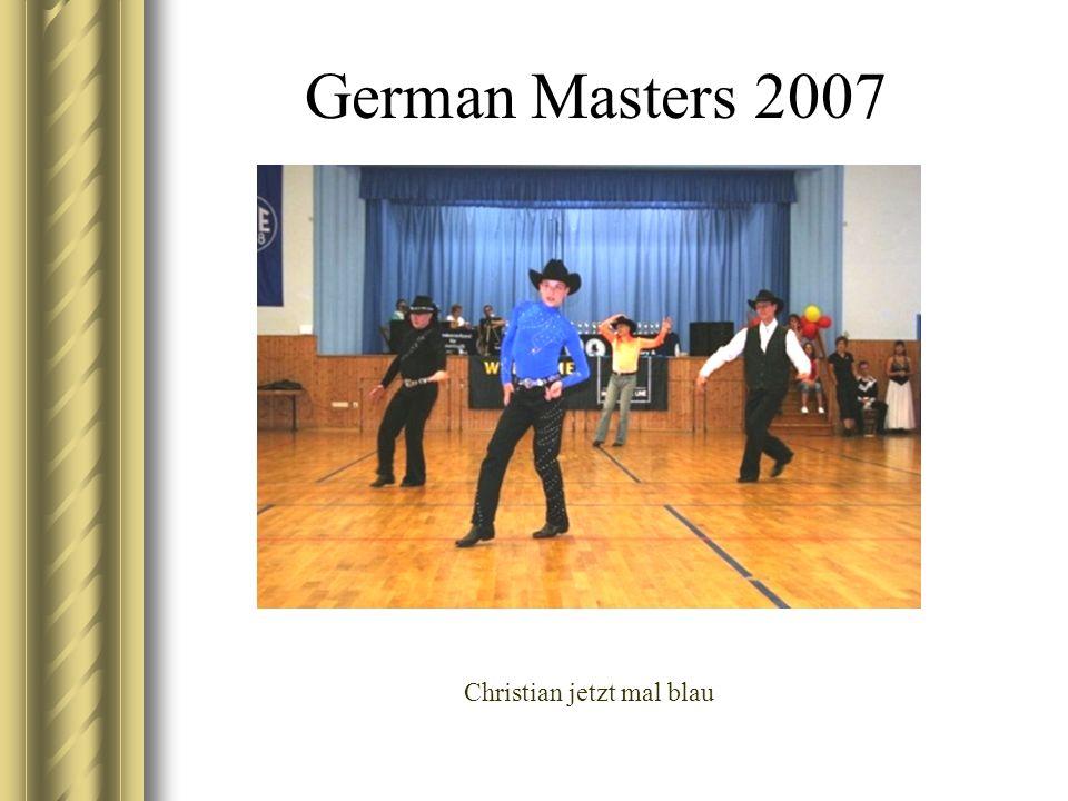 German Masters 2007 Christian jetzt mal blau