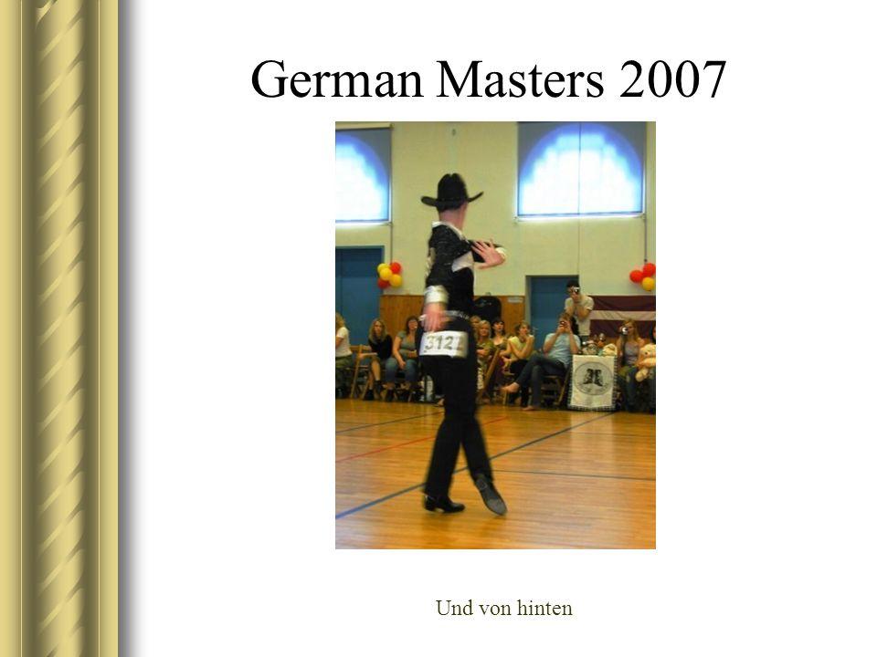 German Masters 2007 Und von hinten