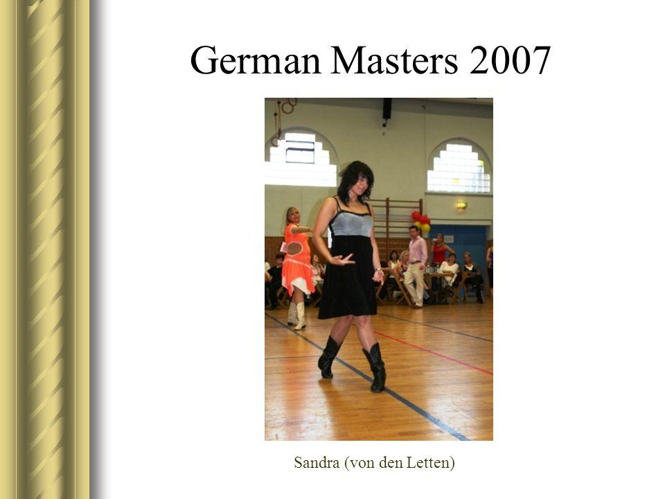 German Masters 2007 Sandra (von den Letten)