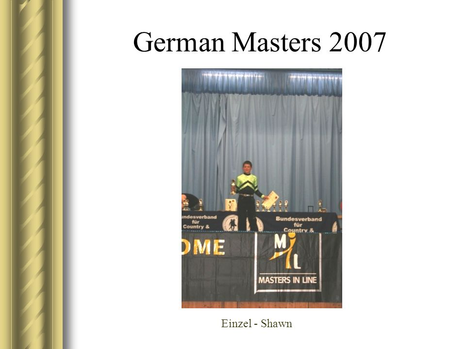 German Masters 2007 Einzel - Shawn