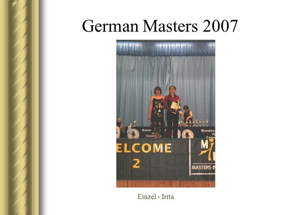 German Masters 2007 Einzel - Irita