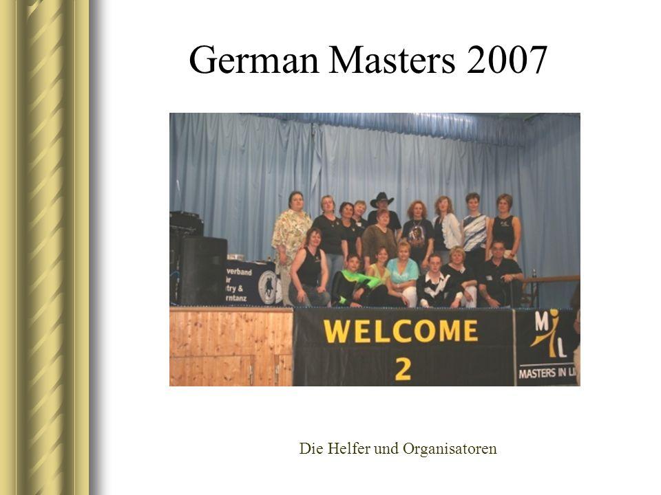 German Masters 2007 Die Helfer und Organisatoren