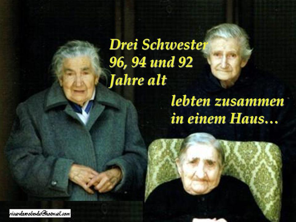 Wenn das Alter uns erreicht....