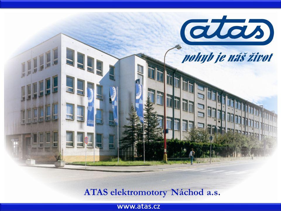 www.atas.cz ATAS elektromotory Náchod a.s.