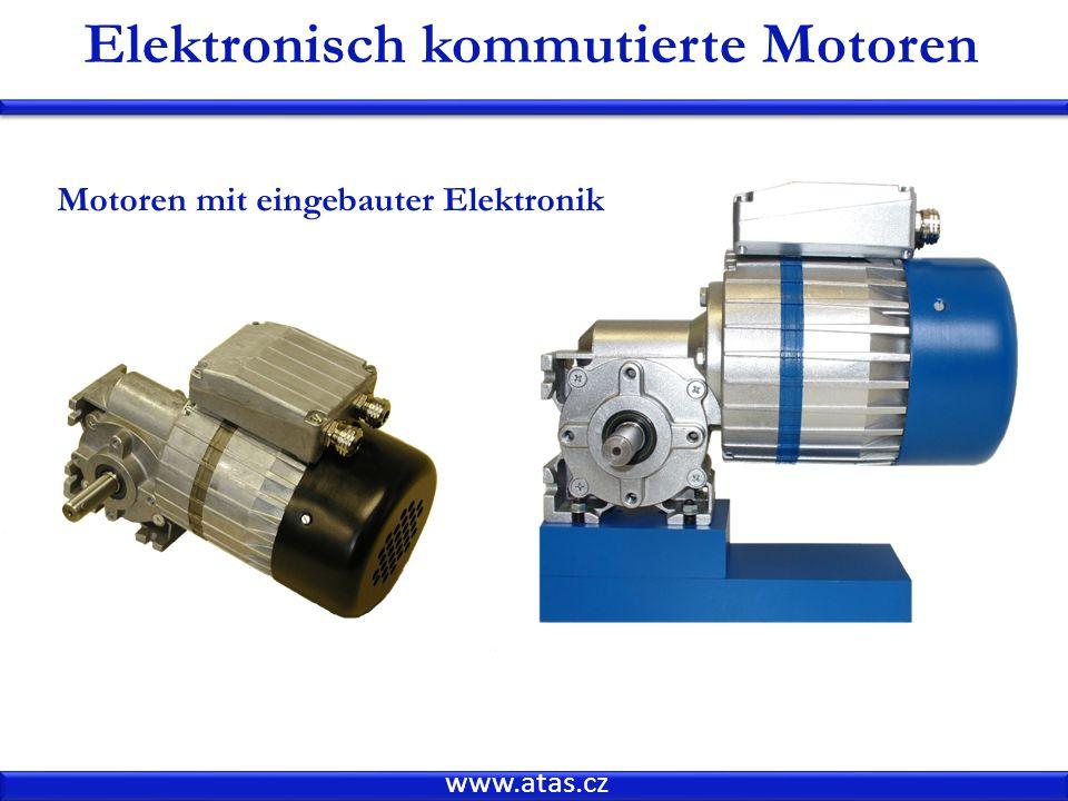 www.atas.cz Elektronisch kommutierte Motoren Motoren mit eingebauter Elektronik