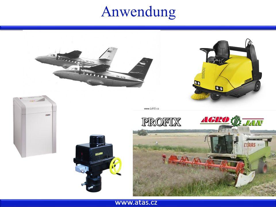 www.atas.cz Anwendung