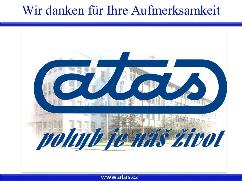 www.atas.cz Wir danken für Ihre Aufmerksamkeit