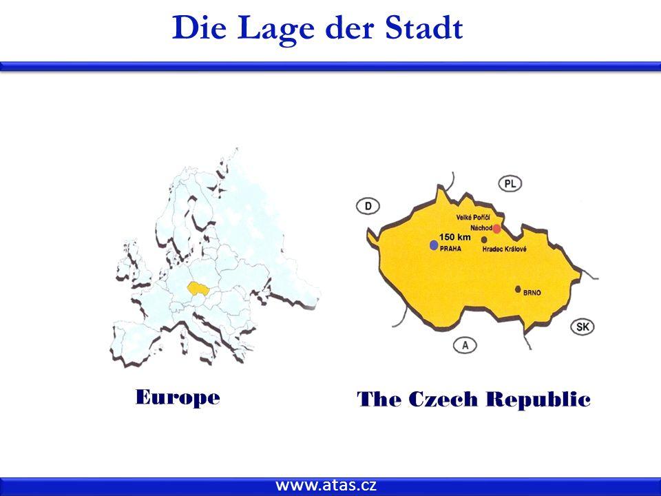 www.atas.cz Die Lage der Stadt