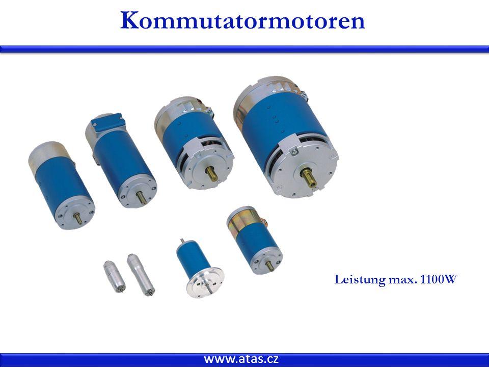 www.atas.cz Kommutatormotoren Leistung max. 1100W