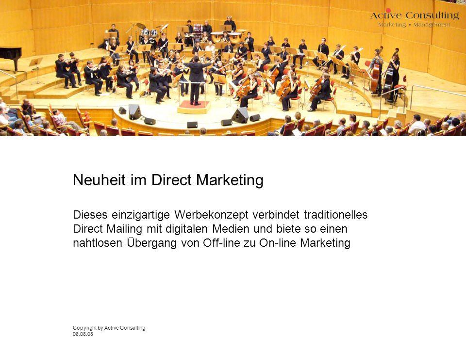 Neuheit im Direct Marketing Dieses einzigartige Werbekonzept verbindet traditionelles Direct Mailing mit digitalen Medien und biete so einen nahtlosen