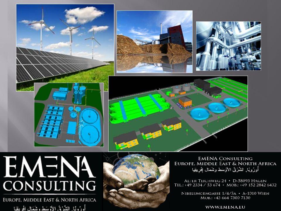 PROJEKTENTWICKLUNG Unternehmens- & Geschäftsfeldstrategien Konzeption und technische Planung Nachhaltigkeits- und Umweltmanagement-Systeme Environmental Accounting / Green Controlling
