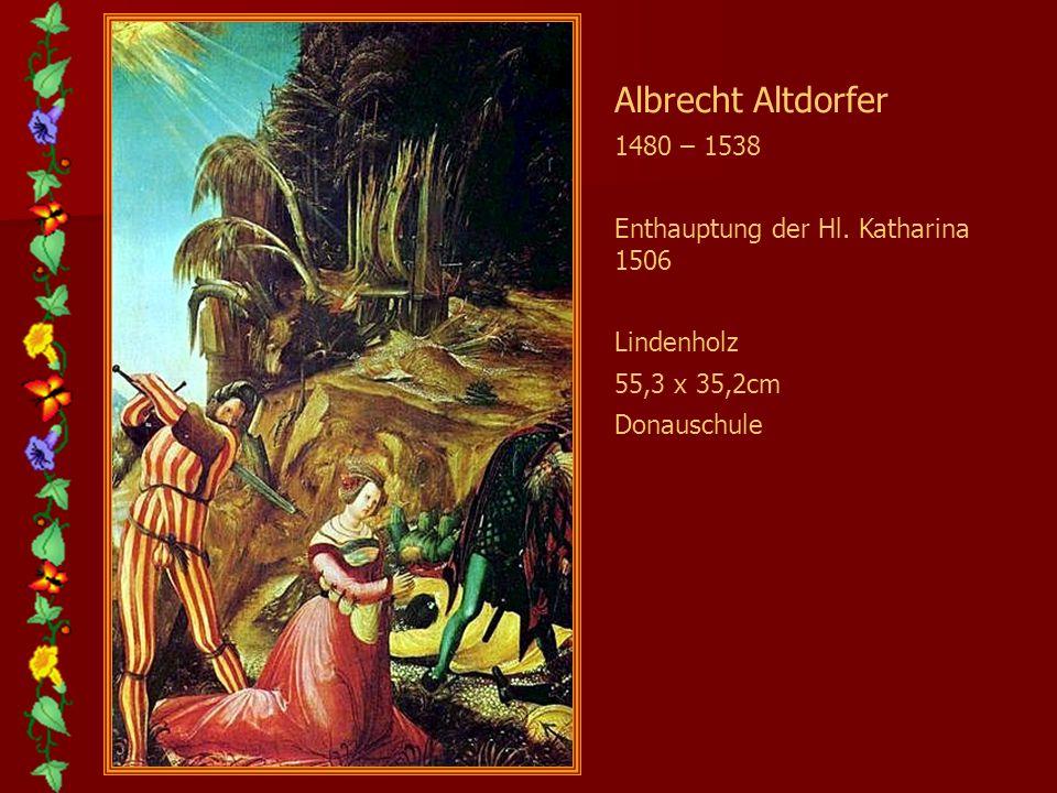 Amberger Christoph 1505 – 1562 Portrait d. Christoph Baumgartner 1543 Öl auf Holz 84 x 63cm