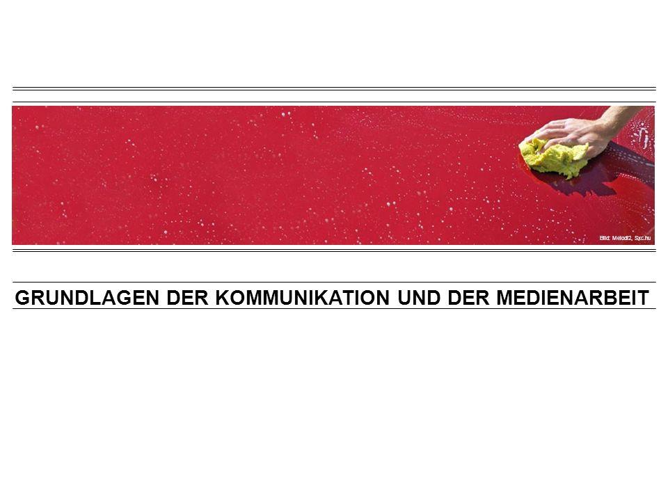 IMAGEANALYSE Kommunikationskonzept > Analyse Quelle: Andreas Renggli: richtig kommunizieren.