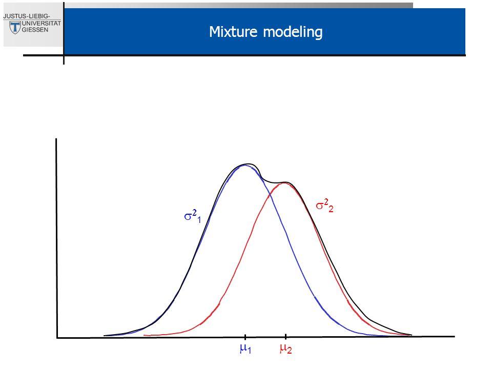 2 1 1 2 Mixture modeling