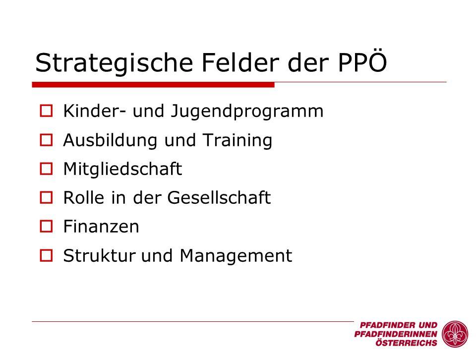Kinder- und Jugendprogramm Ausbildung und Training Mitgliedschaft Rolle in der Gesellschaft Finanzen Struktur und Management Strategische Felder der P