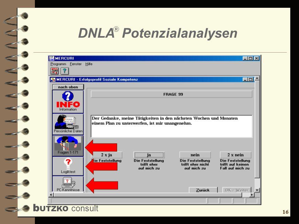 17 b UTZKO consult DNLA Potenzialanalysen 45 Fragen