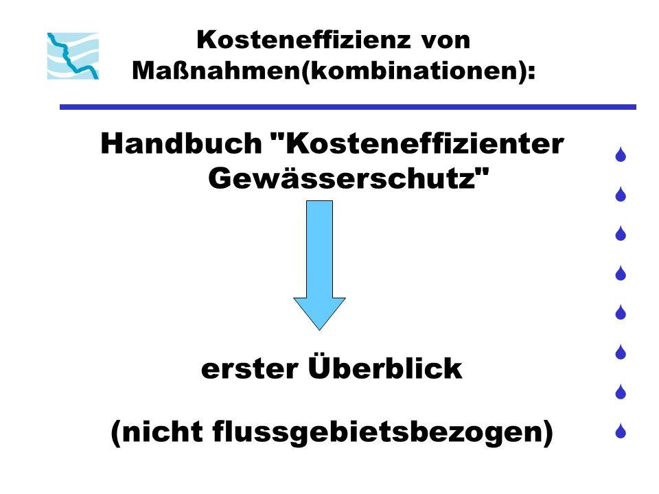 Kosteneffizienz von Maßnahmen(kombinationen): Handbuch