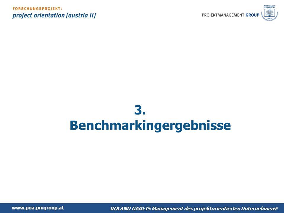www.poa.pmgroup.at ROLAND GAREIS Management des projektorientierten Unternehmens ® 3.