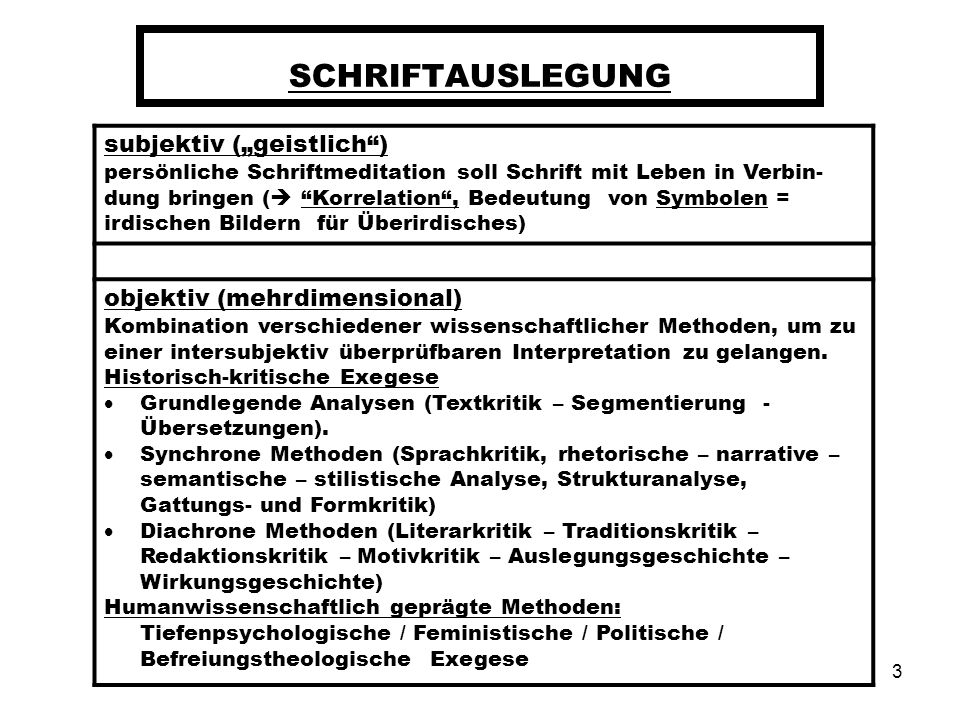 4 Geistliche Schriftlesung (lectio divina / Hl.BENEDICT OSB, GUIGO OCart 1.